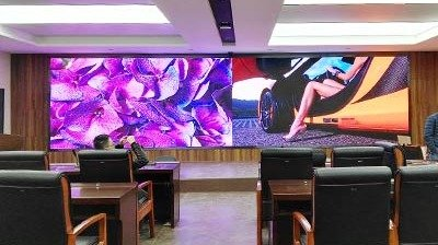 Fine-pitch P1.4mm Full HD Indoor LED Display for the Control Center of Shanxi Tourist Administration