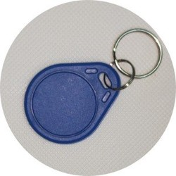 RFID keyfob Programmable waterproof ABS  keychain tag