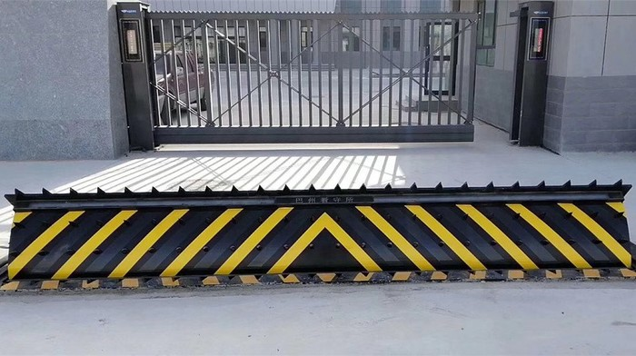 Retractable Bollards and Spike Road Blocker Project for Government Department