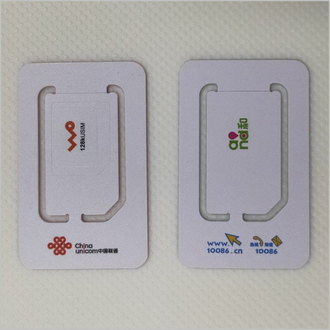 sim card 2G 3G 4G LTE sim card for programmable
