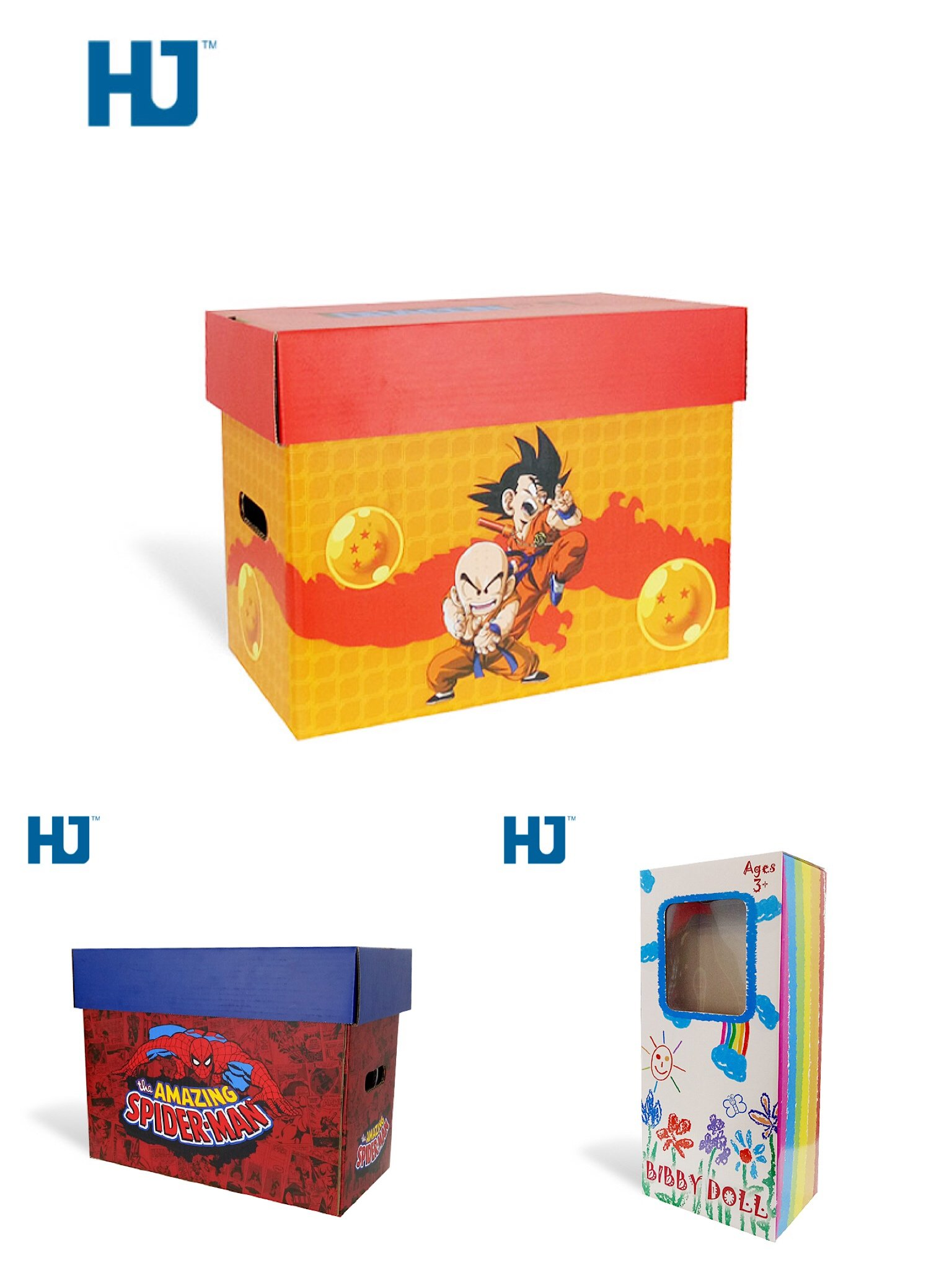 toy cardboard display packaging boxes