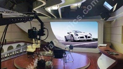 LianTronics FC3 is Applied at TV Studio of Car Fans Channel
