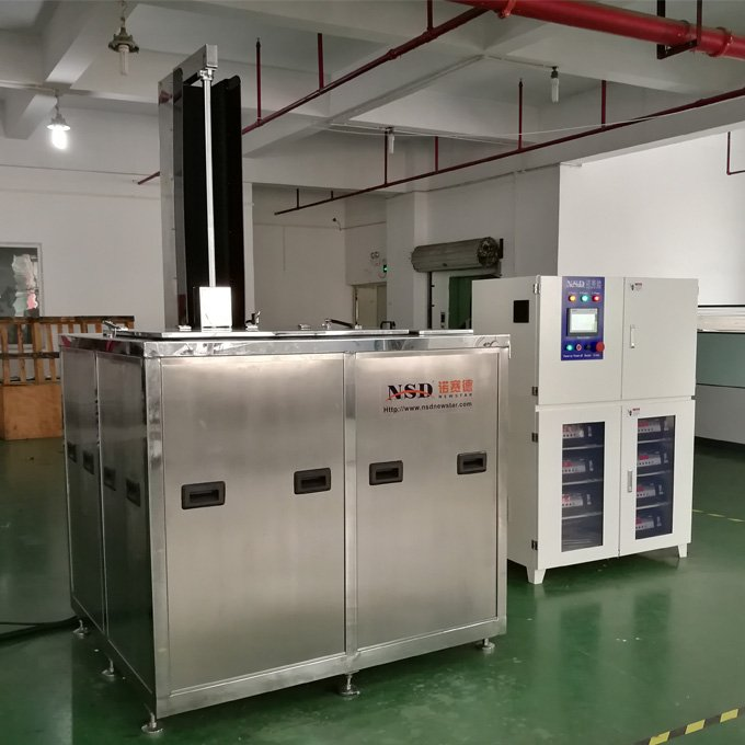 Ultrasonic Cleaner for DPF with Lift and Oil Removal