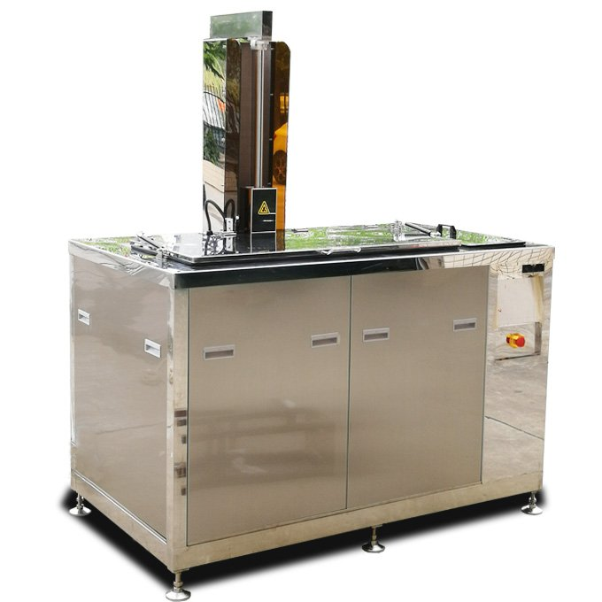 Ultrasonic Cleaner for Middle Auto Parts with Lift and Oil Removal
