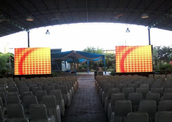 P4.81 outdoor stage rental led display
