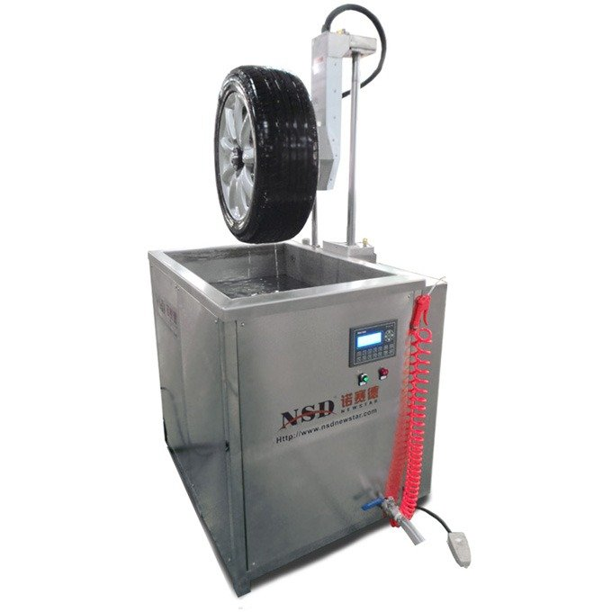 Wheel Ultrasonic Cleaner for the Whole Wheel with Tire with Automatic Lift for up and down