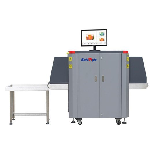 X-Ray Baggage Scanner Used in Railway